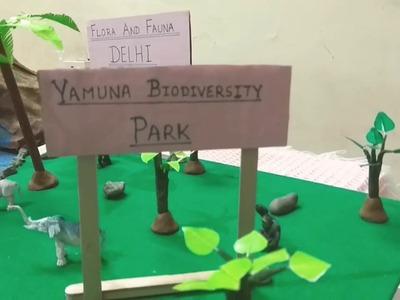 Flora and fauna in delhi 3d model school project