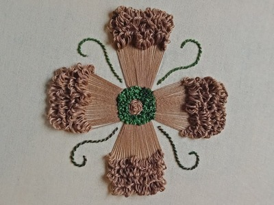 HAND EMBROIDERY: Carnation Flower Embroidery II Carnation Flower