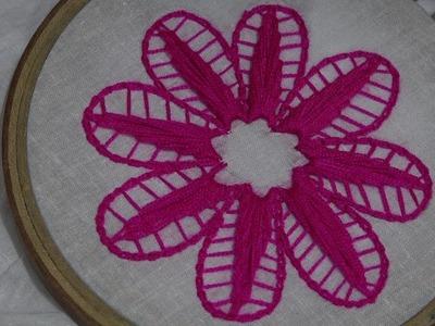 Chain Tutorial Of Cable Chain Stitch Hand Embroidery Desgine