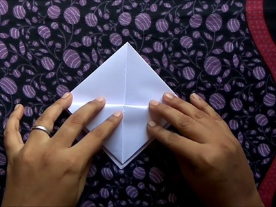 How to make a paper boat (in tamil)
