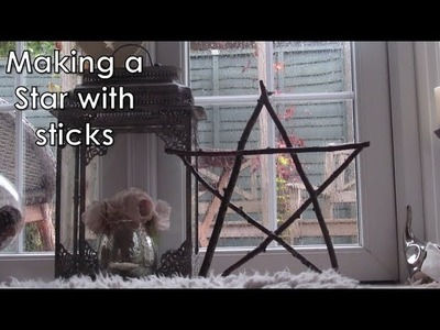 How-To Make a Star with Sticks.Twigs | D.I.Y.