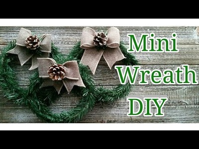 Mini Wreath DIY | Dollar Tree DIY