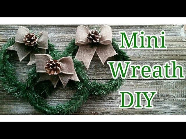 Mini Wreath DIY | Dollar Tree DIY