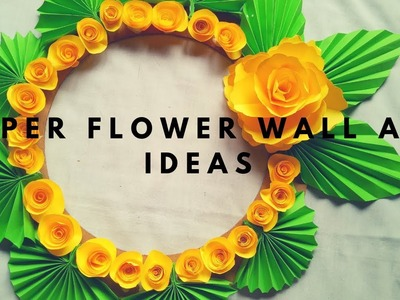 Paper Flower Wall Art Ideas