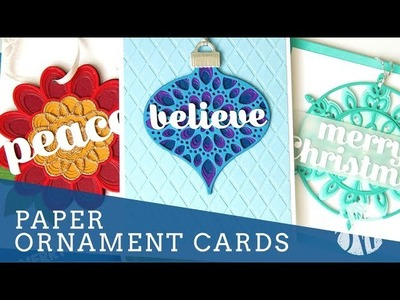 Paper Ornament Cards