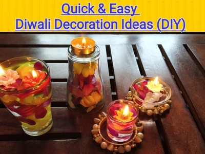Quick & Easy Diwali Decoration Ideas | Diwali DIY | Vijaya Kabra