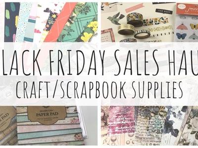 SCRAPBOOK. CRAFT HAUL   Black Friday Sales   Thompson's Craft + Hey Little Magpie