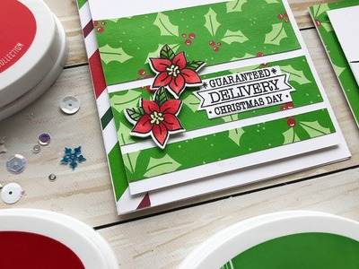 Simple Holiday Cards to Make with Patterned Paper