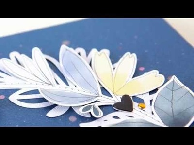 Smile, scrapbooking process video for Hip Kit Club | Jung AhSang