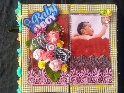 Special gift for Hridaan. ,????????????????luv u mera bacha.  baby boy scrapbook.