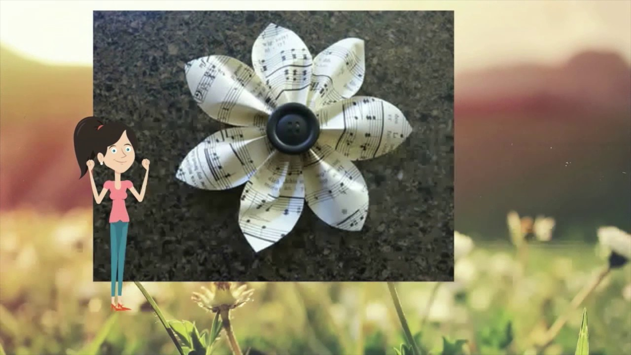 how to make paper flowers step by step