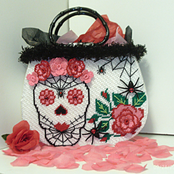 White Day of the Dead Tote bag