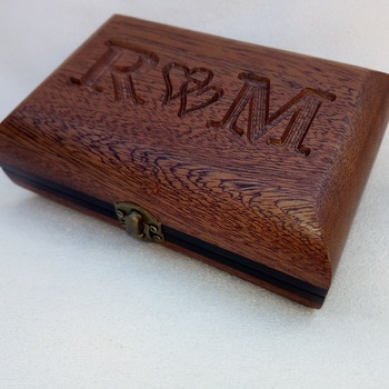 Wooden Ring Box- Personalized Ring Holder- custom engraved ring box