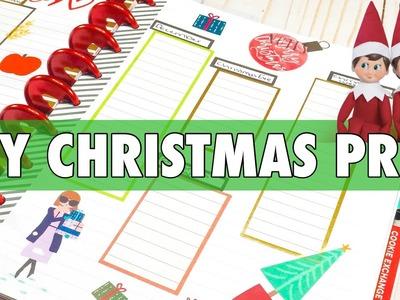 2018 HOLIDAY PLANNER SERIES   DIY ELF ON THE SHELF IDEA LIST + HAPPY PLANNER CHRISTMAS CHECKLIST