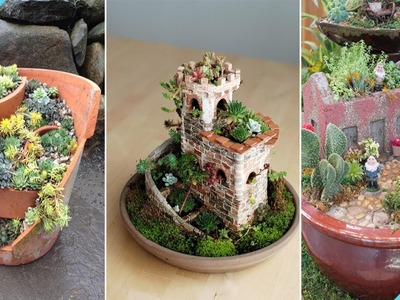 80+ DIY Succulent Fairy Garden Ideas | DIY Garden