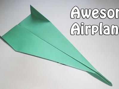 Amazing Dart Paper Airplane | How to Make Stingray | Best Paper Airplane