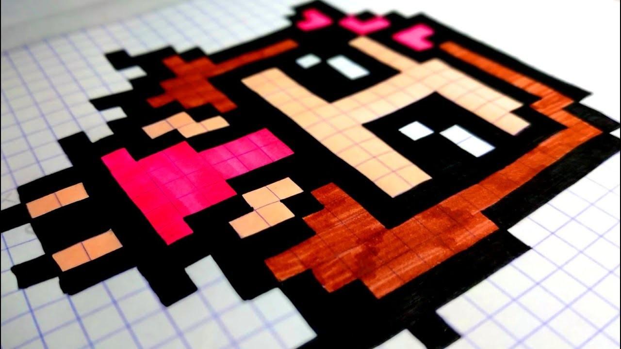Comment Dessiner Une Fille Kawaii Facilement En Pixel Art Asmr