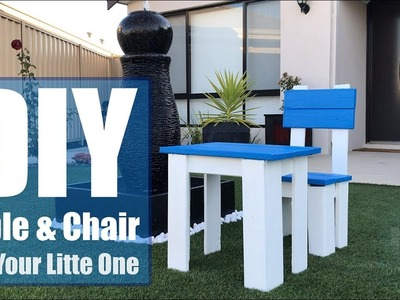 DIY -  Table and Chair For Your Little One