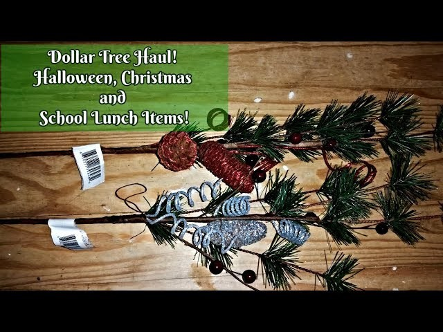 dollar store crafts decor dollar tree haul beautiful pine branches 10800