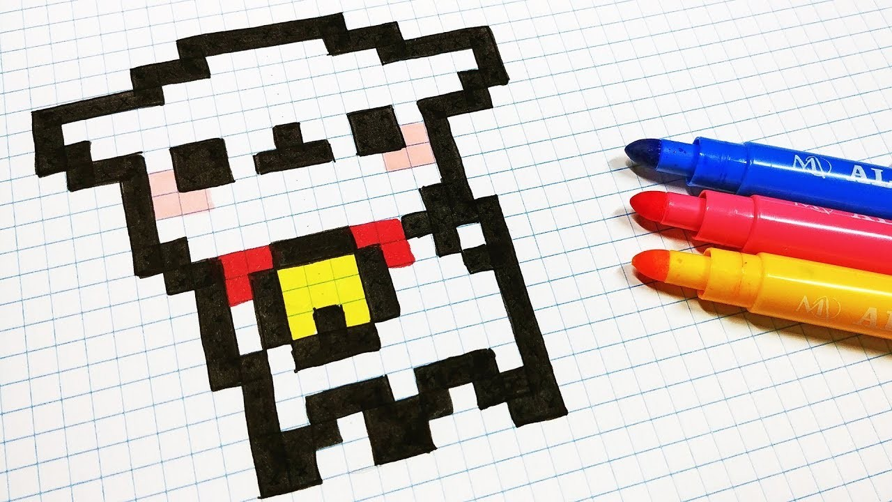Handmade Pixel Art How To Draw Kawaii Sheep Pixelart