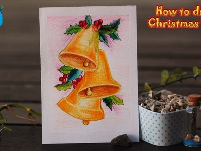 How to Draw Christmas Bells Easy Drawing for Christmas Festival