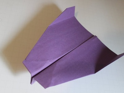How to make a cool paper plane  that fly far