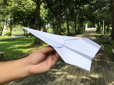 How to make a paper plane #13
