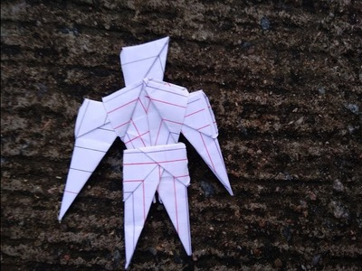 How to make paper robot.