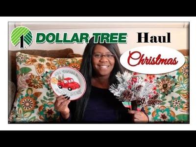 HUGE Dollar Tree Haul ???????? Christmas 2018