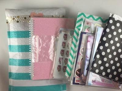 HUGE Planner Supplies and Sticker Haul!
