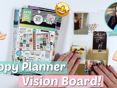 My 2019 Happy Planner Vision Board! ???????? Crush Your Goals In 2019