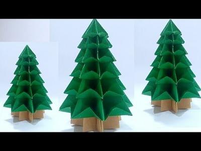 ORIGAMI CHRISTMAS TREE (Tutorial)