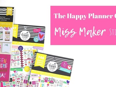 The Happy Planner® Girl | Miss Maker STICKERS