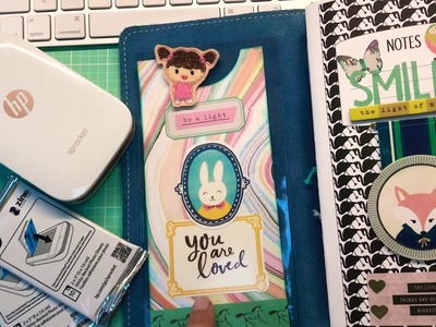 Using my HP Sprocket to make stickers for my planner