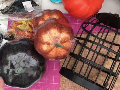 3 quick last minute Halloween DIY's! Poundland and Primark DIY!