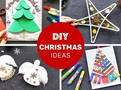 5 DIY Christmas Room Decor! Easy Craft Compilation