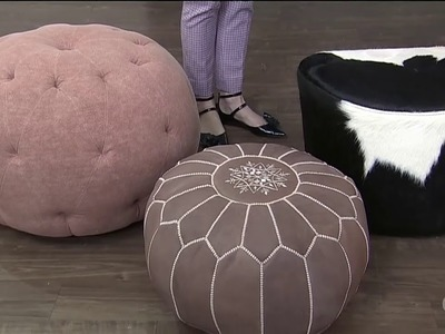 5 poufs + ottomans for stylish seating solutions
