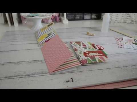 6x6 Paper | QUICK & EASY | Happymail Flipbook Idea | Septeria18