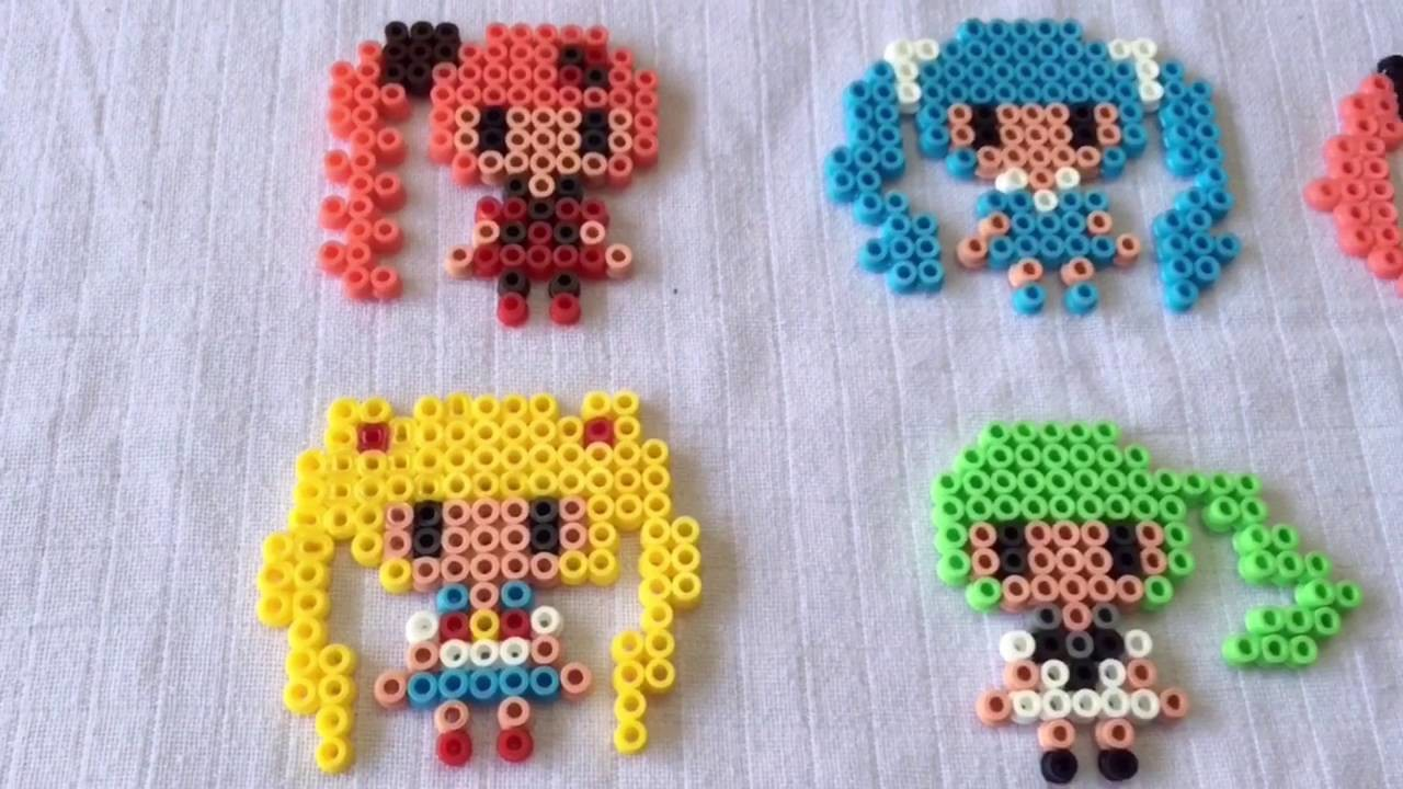 android girl hama beads tutorial. Black Bedroom Furniture Sets. Home Design Ideas