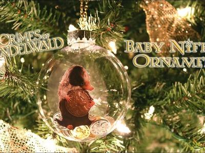 Baby Niffler DIY Ornament : Fantastic Beasts The Crimes of Grindelwald :  Fantastic Beasts Christmas