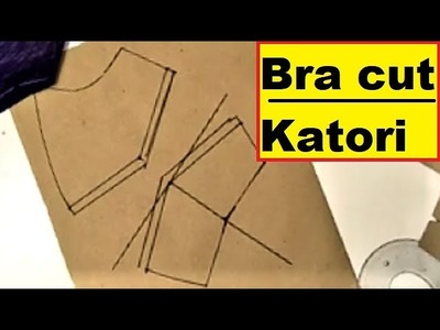 "Bra cut katori blouse cutting for 34"" chest by blousemaster"