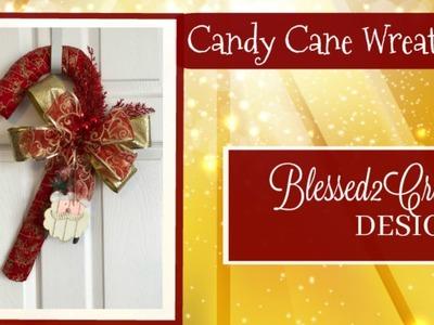 Candy Cane Wreath #2 - The comparison