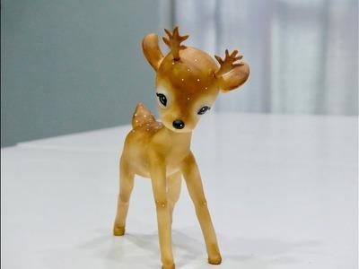 Christmas deer by patricia Santoro. Ciervito navideño.