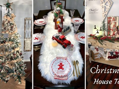 CHRISTMAS HOUSE TOUR 2018 | FARMHOUSE CHRISTMAS DECOR