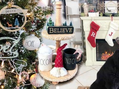 ????CHRISTMAS HOUSE TOUR 2018 | FARMHOUSE CHRISTMAS DECOR | Rae Dunn, Target Dollar Spot, Dollar Tree