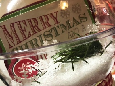 Christmas Snow Globe -Idea #12