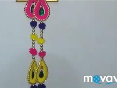 #crafttutorial1.0 #latkan Easy craft Diwali.Christmas sajawat Latkan