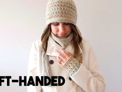 Crochet Gift Set: Colorscape Cowl (Left-handed)