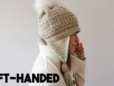Crochet Gift Set: Colorscape Hat (Left-handed)