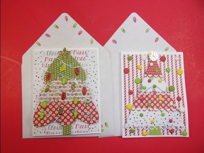 Day 3 of Seven Days of Easy Christmas Cards w. Stamps of Life Kit